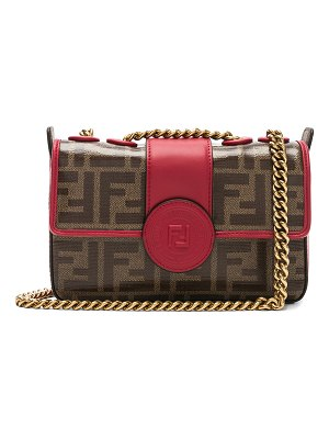 Fendi Mini Logo Print Double F