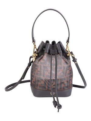 Fendi mini mon tresor mesh bucket bag