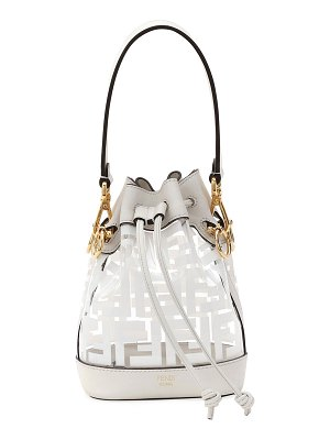 Fendi Mon Tresor Mini FF Bucket Bag