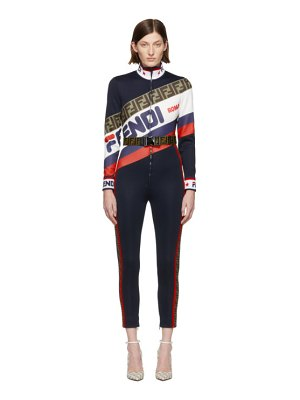 Fendi navy  mania jumpsuit