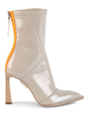 Fendi patent point-toe ankle boots