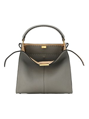Fendi Peekaboo Rome X-Lite Calf Top-Handle Bag