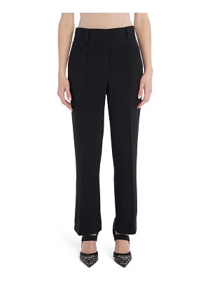 Fendi pintuck straight leg pants