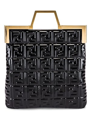 Fendi regular shopping flap bag