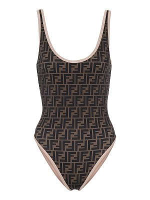 Fendi reversible logo swimsuit
