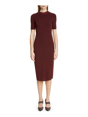 Fendi rib sweater dress