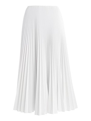 Fendi shiny pleated maxi skirt