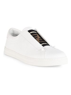 Fendi slip-on logo sneakers