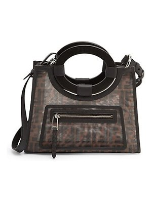 Fendi small runaway mesh shopper