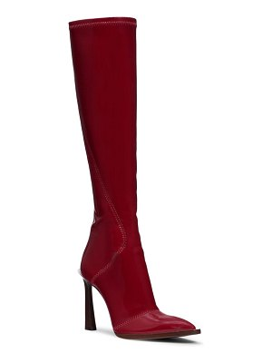 Fendi stivale patent tall boot