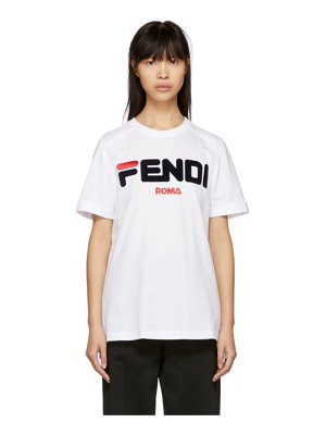 Fendi white  mania t-shirt