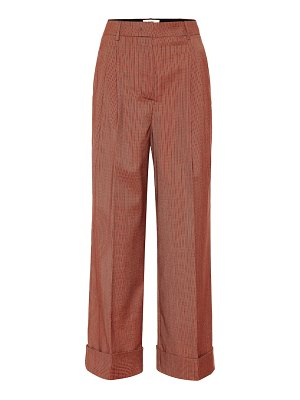 Fendi wool-blend wide-leg pants