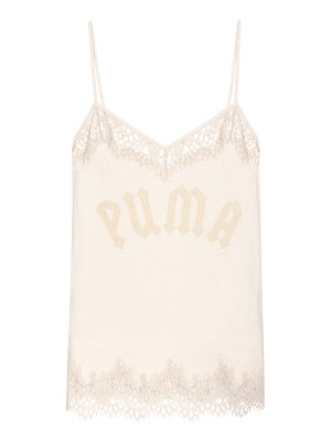 Fenty by Rihanna lace-trimmed cotton camisole