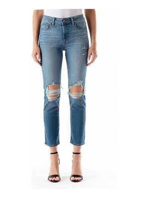 Fidelity Cher High-Rise Distressed Jeans