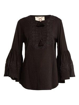 Figue liza embroidered cotton shirt