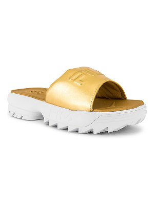 Fila disruptor metallic slide