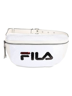 FILA URBAN Logo sequined belt bag