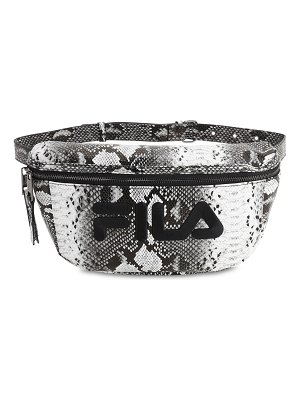 FILA URBAN Logo snake print belt bag