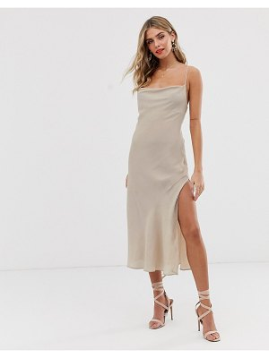 Finders Keepers eve dress-cream