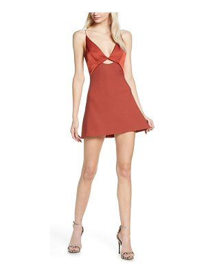 Finders Keepers paradise mini a-line dress