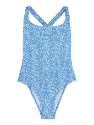 Fisch oubli abstract-print swimsuit