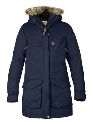 Fjallraven nuuk waterproof parka with removable faux fur trim