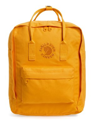 Fjallraven re-kanken water resistant backpack