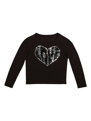 Flowers By Zoe Sequin Love Heart Top