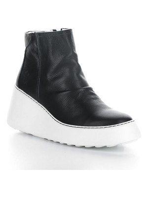 Fly London dabe wedge bootie