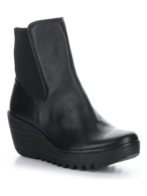 Fly London yocy wedge bootie