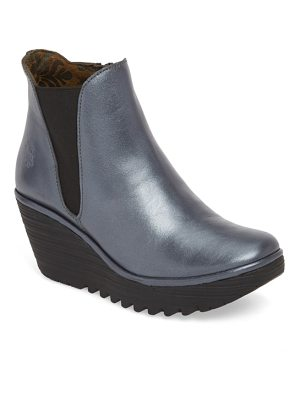 Fly London yozo wedge boot