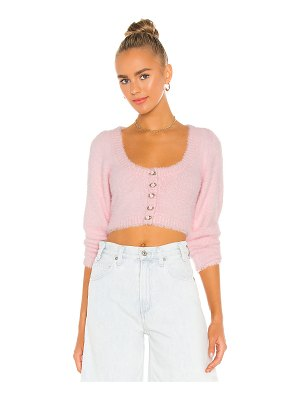 For Love & Lemons anastasia cropped cardigan