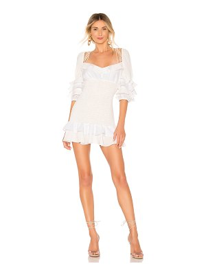 For Love & Lemons bora bora mini dress