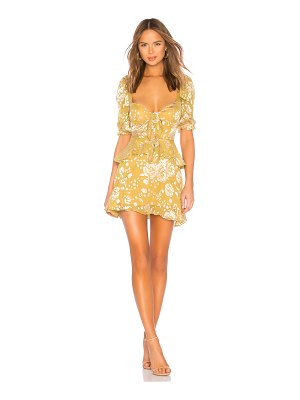For Love & Lemons cosmo mini dress