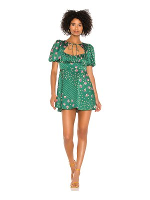 For Love & Lemons cypress mini dress