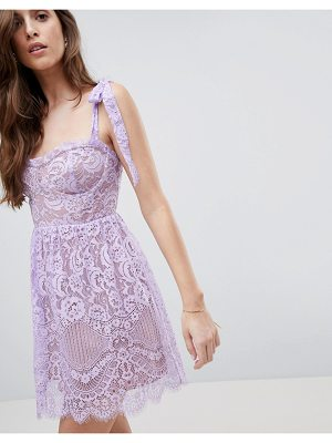 For Love & Lemons valentina mini dress