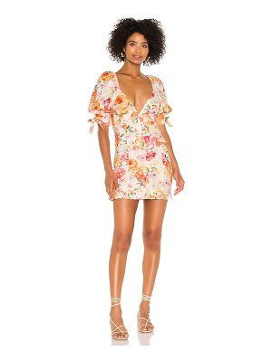 For Love & Lemons julep mini dress