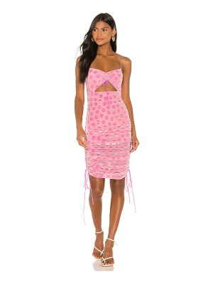 For Love & Lemons lusk midi dress