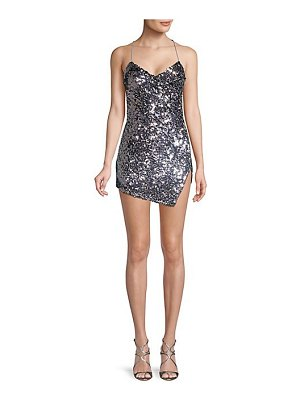 For Love & Lemons showtime sequin mini dress