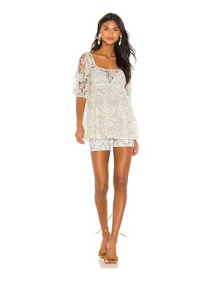 For Love & Lemons sundae mini dress