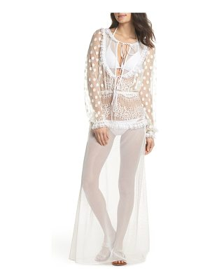 For Love & Lemons trinidad cover-up dress