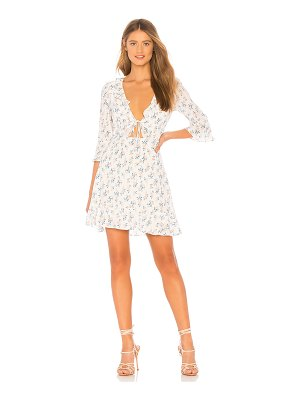 For Love & Lemons X REVOLVE Tie Front Mini Dress