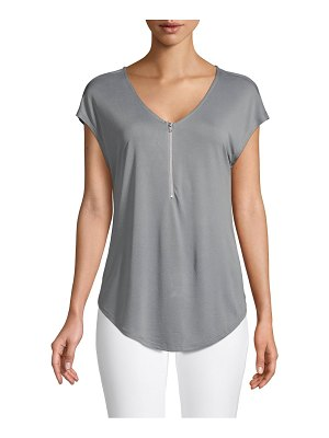 FOR THE REPUBLIC V-Neck Jersey Top