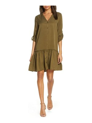 FOREST LILY long sleeve shirtdress