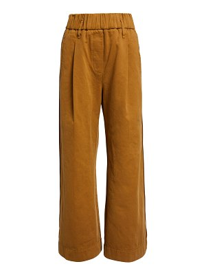 Forte Forte Frosted Cotton Diagonal Structure Pants