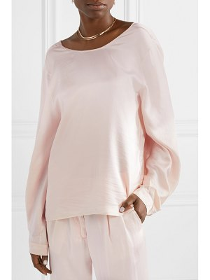 Forte Forte hammered silk-satin blouse