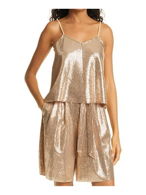 Forte Forte jesey sequin camisole