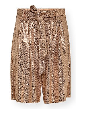 Forte Forte Sequined Jersey Bermuda Shorts