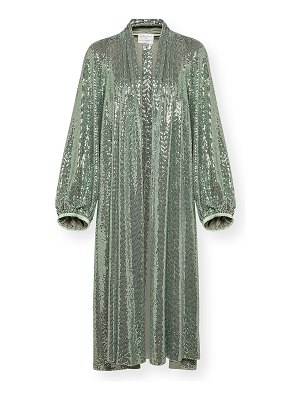 Forte Forte Sequined Jersey Duster Coat