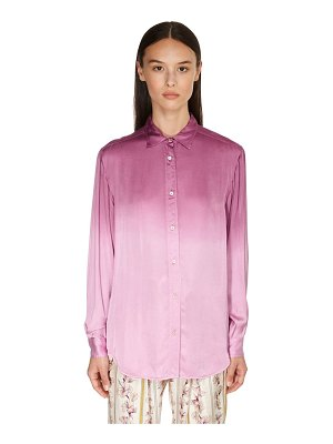 FORTE_FORTE Degradé print satin shirt